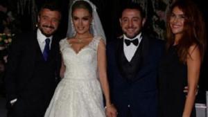 Nihat Kahveci ile Fulya Kahveci Boğaz'da düğün yaptı