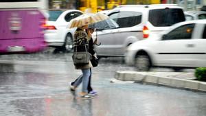 İstanbul için çok kuvvetli yağış uyarısı