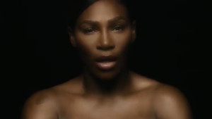 Serena Williams göğüs kanserine dikkat çekmek için üstsüz video paylaştı