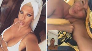 Jelena Karleusa'nın yeni görüntüleri ortaya çıktı: Baba evinde cinsel ilişki