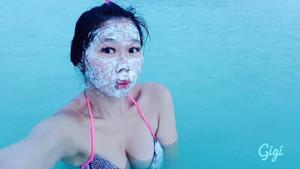 Kayalıklarda poz veren Gigi Wu feci şekilde can verdi