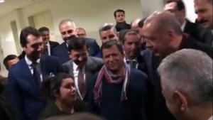 Erdoğan, polislere 3600 katsayı sözünü hatırlatan genç kıza ne dedi?