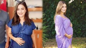 8 aylık hamile Hazal Kaya geri sayıma başladı
