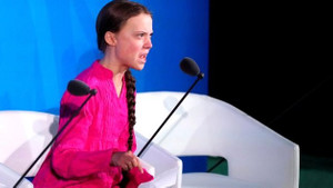 İklim aktivisti Greta Thunberg'den terör örgütü YPG'ye destek