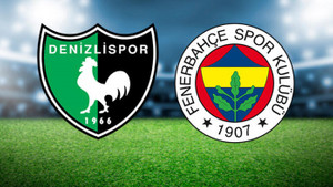 Denizlispor Fenerbahçe maçı ne zaman, saat kaçta, hangi kanalda?