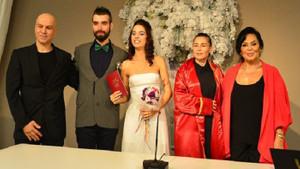 Zeynep Casalini kızı Ceren Sarp'ı evlendirdi