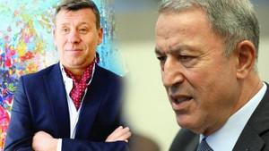 Bakan Hulusi Akar'dan Metin Şentürk'e: Hiç bizi görmüyorsun