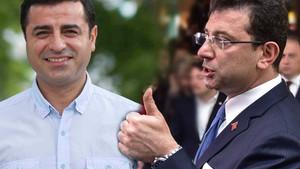 AKP'nin seçim anketinde İmamoğlu ve Demirtaş şoku