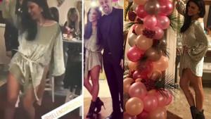 Selen Görgüzel'in doğumgünü dekoltesi: Seksi dansı olay oldu