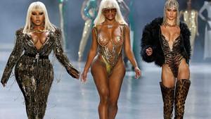 The Blonds defilesi Moda Haftası'na damga vurdu!