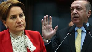 Akşener: Erdoğan'ın yıkılmaz algısı patır kütür çöküyor