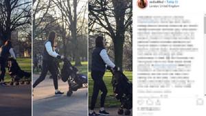 Türk çift Kate Middleton ve oğlunu böyle görüntüledi