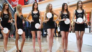 Miss Rusya 2019 adayı güzel kızlar görücüye çıktı