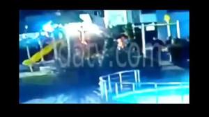 AK Parti Aliağa İlçe Başkanı Kazım Sayın iki çocuğu böyle dövdü