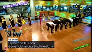 Meksika televizyonlarında uzak doğulularla yarışan çılgın yarışma programı