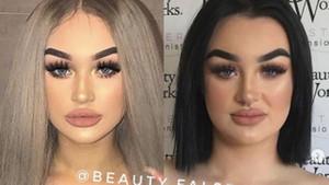 Makyaj hilesi olmadan ucube gibiler.. instagram ünlülerinin gerçek yüzü