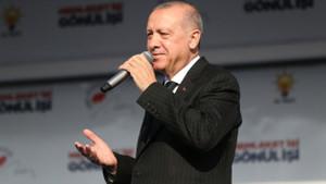 Erdoğan: Milletin hayrına hangi hizmet varsa bu CHP yargıya taşımıştır