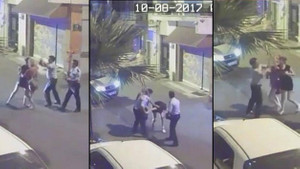 Kıyafet tacizinde bulunup darp eden polisin cezası belli oldu!