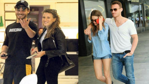 Serenay Sarıkaya sevgilisi Kerem Bürsin ile ilgili iddialara yanıt vermedi