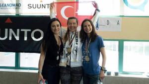 Birgül Erken serbest dalışta altın madalya kazandı