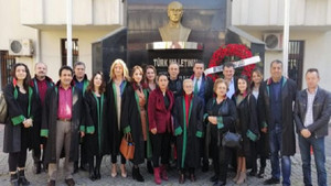 Beykozlu avukatlardan manifesto gibi kutlama