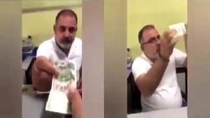 Vatandaştan YSK'ya gönderme: Bu 20 liranın 5 lirası sahte