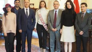 İngiltere güzellik kraliçesi Alisha Cowie Türkiye'nin tanıtım yüzü oluyor