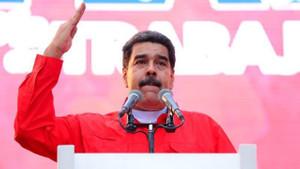 Askeri birlikleri teftiş eden Maduro: Savaşma zamanı geldi