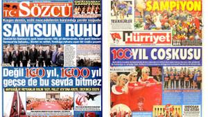 Liderlerin Samsun pozunu hangi gazete nasıl gördü?