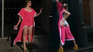 Bu yıl plajların yeni modası bu! Bikiniler gitti Towelkini geldi