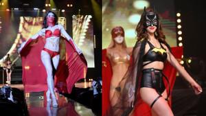 Sibirya'da güzellerin yarıştığı Miss Çita 2019'dan kareler