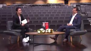 Atilla Taş'ın yandaş gazeteci sorusu, İmamoğlu'nu kahkahaya boğdu