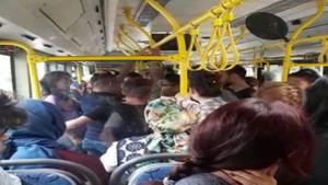 Halk otobüsünde taciz şoku