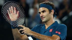 Federer'in tenis maçında her şey çok güzel olacak sloganı