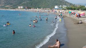 Mudanya'dan sonra bir tatil merkezinde daha Suriyelilere plaj yasağı geldi