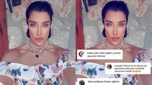 Deniz Akkaya'nın Instagram hesabına yüklediği selfiesi olay oldu