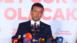 İmamoğlu'ndan seçim sonuçlarıyla ilgili flaş açıklama