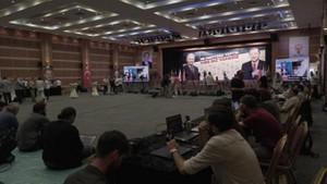 AKP İstanbul İl Merkezi'nde ekranlar kapatıldı