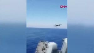 Bakanlık sosyal medyadan paylaştı: İşte F-16 savaş uçağının o hareketi