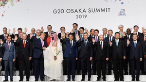 G-20 zirvesinden çarpıcı kare!