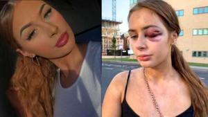 Eğlenelim teklifini kabul etmeyen genç kadın tekme tokat dövüldü