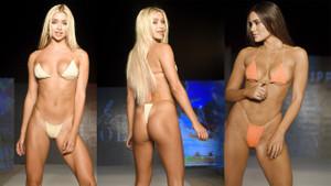 Miami Swim Week'te sergilenen bikiniler yürek hoplattı