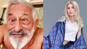 Ünlüler de yaşlanma akımına uydu! Yaşlı hallerini takipçileriyle paylaştılar
