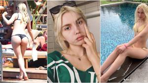 Aleyna Tilki kilo eleştirilerine inat bikinili pozlara devam ediyor!