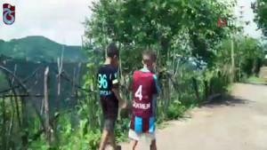 Trabzonspor keşan motifli formasını tanıttı izleyenler mest oldu