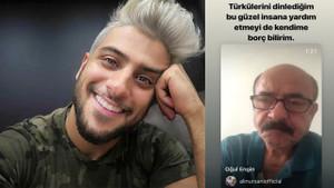 Aşık Ali Nurşani'nin yardım çağrısına Reynmen duyarsız kalmadı!