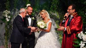 İmamoğlu ilk kez nikah kıydı: Gelin hangi medya patronunun kızı?