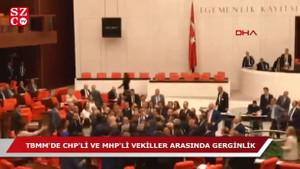 TBMM'de gerginlik: MHP'liler Özgür Özel'in üzerine yürüdü!