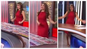 FOX sunucusu Merve Yıldırım'dan stüdyoda dans videosu