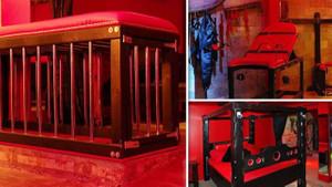 BDSM meraklılarına özel otel: İçinde kafes bile var!